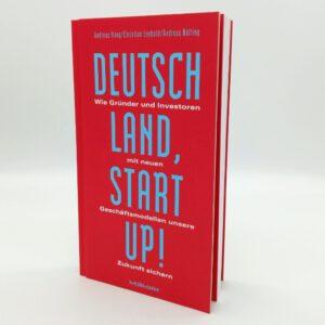 Deutschland Startup Buch Vorderseite